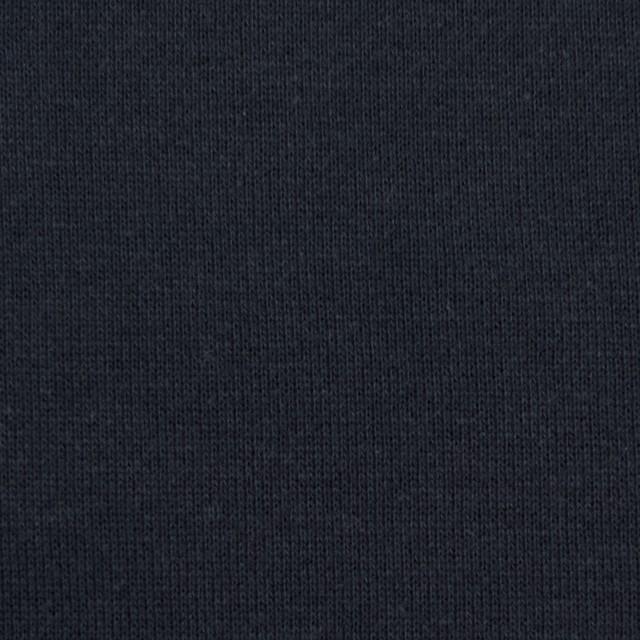 コットン×無地(ライトブラック)×裏毛ニット イメージ1