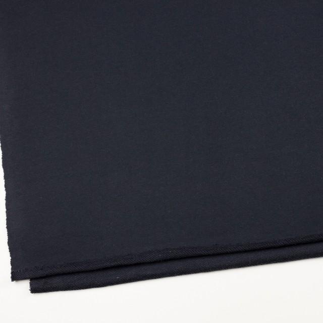 コットン×無地(ライトブラック)×裏毛ニット イメージ2