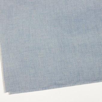 リネン&コットン×チェック(サックス)×千鳥格子_全2色 サムネイル2
