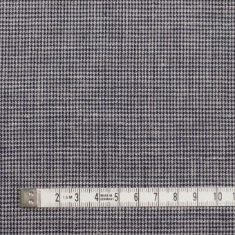 リネン&コットン×チェック(ネイビー)×千鳥格子_全2色 サムネイル4