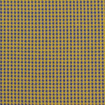 コットン×ウインドミル(アンティークゴールド&ロイヤルブルー)×かわり織_全5色