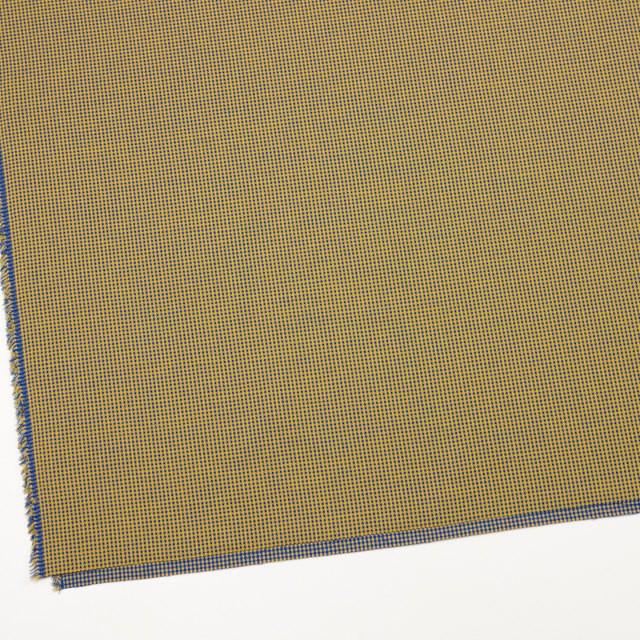 コットン×ウインドミル(アンティークゴールド&ロイヤルブルー)×かわり織_全5色 イメージ2