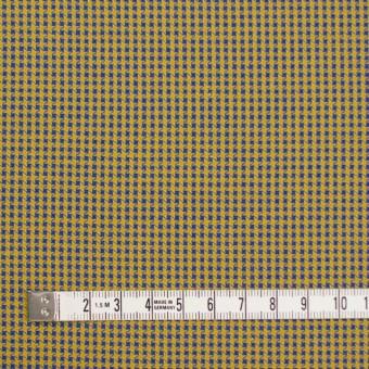 コットン×ウインドミル(アンティークゴールド&ロイヤルブルー)×かわり織_全5色 サムネイル4