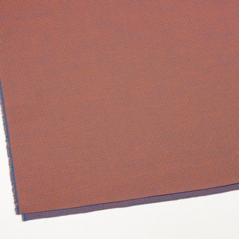 コットン×ウインドミル(コーラルオレンジ&スカイブルー)×かわり織_全5色 サムネイル2