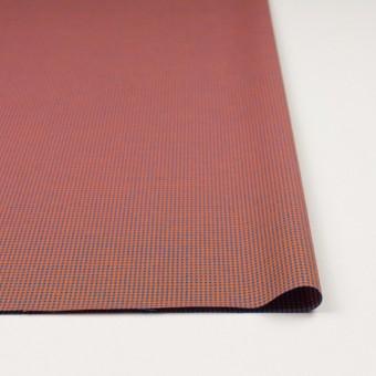 コットン×ウインドミル(コーラルオレンジ&スカイブルー)×かわり織_全5色 サムネイル3