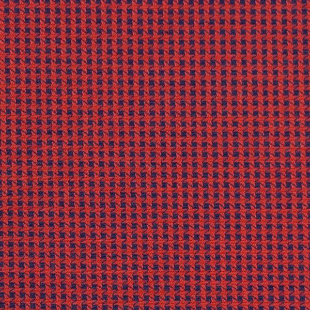 コットン×ウインドミル(レッド&ネイビー)×かわり織_全5色 イメージ1