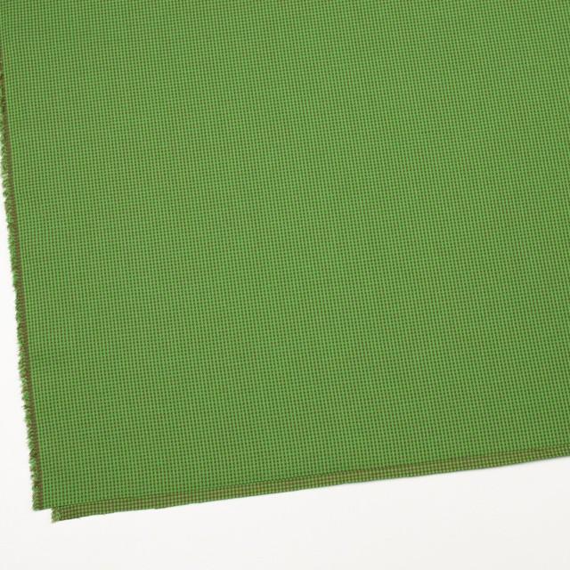 コットン×ウインドミル(メドウグリーン&ブラウン)×かわり織_全5色 イメージ2