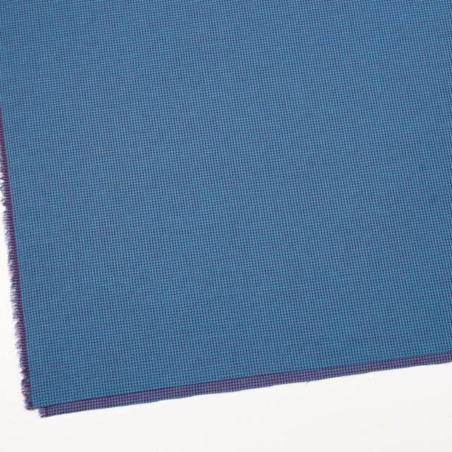 コットン×ウインドミル(シアン&パープル)×かわり織_全5色 イメージ2