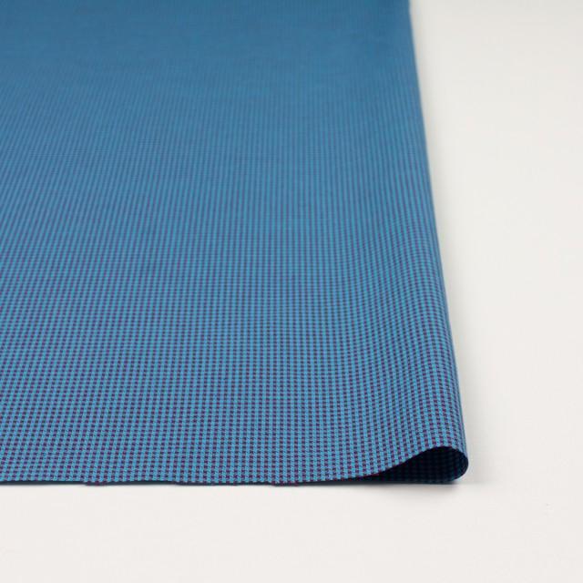 コットン×ウインドミル(シアン&パープル)×かわり織_全5色 イメージ3