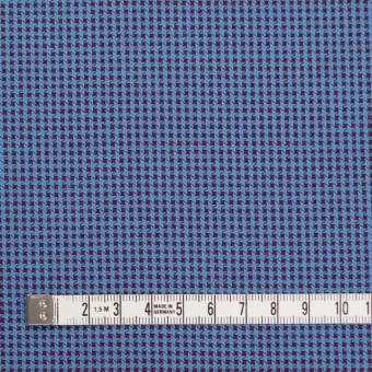 コットン×ウインドミル(シアン&パープル)×かわり織_全5色 サムネイル4