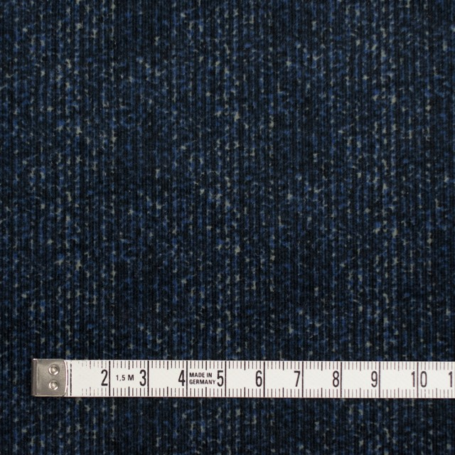 コットン&ポリエステル混×ミックス(ミッドナイトブルー)×コーデュロイ・ストレッチ イメージ4