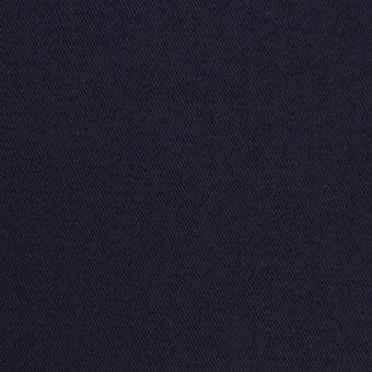 コットン&ポリウレタン×無地(ダークネイビー)×チノクロス・ストレッチ_全2色