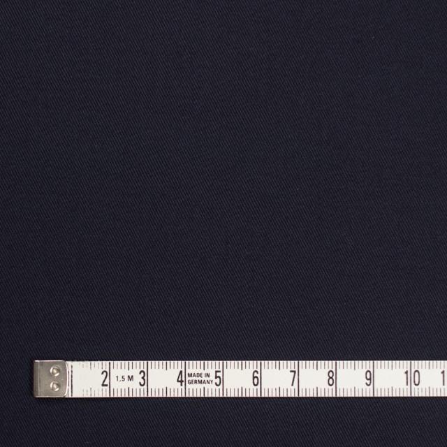 コットン&ポリウレタン×無地(ダークネイビー)×チノクロス・ストレッチ_全2色 イメージ4