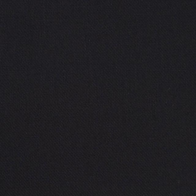 コットン×無地(ブラック)×薄サージ_全4色 イメージ1