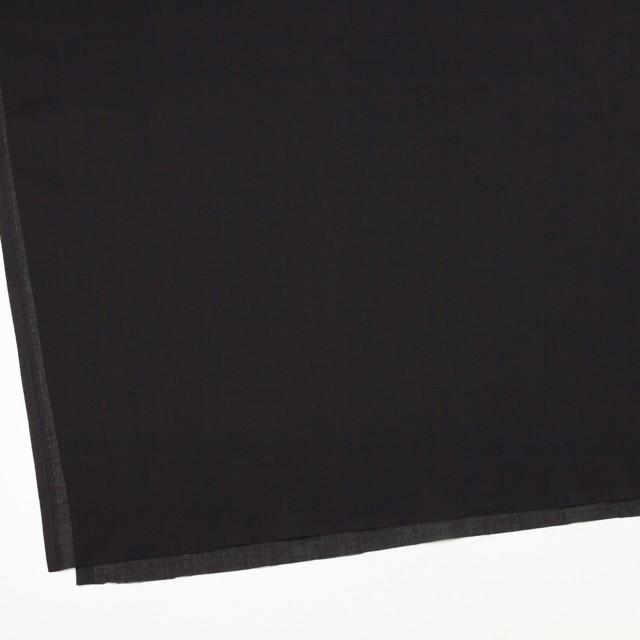 コットン×無地(ブラック)×薄サージ_全4色 イメージ2