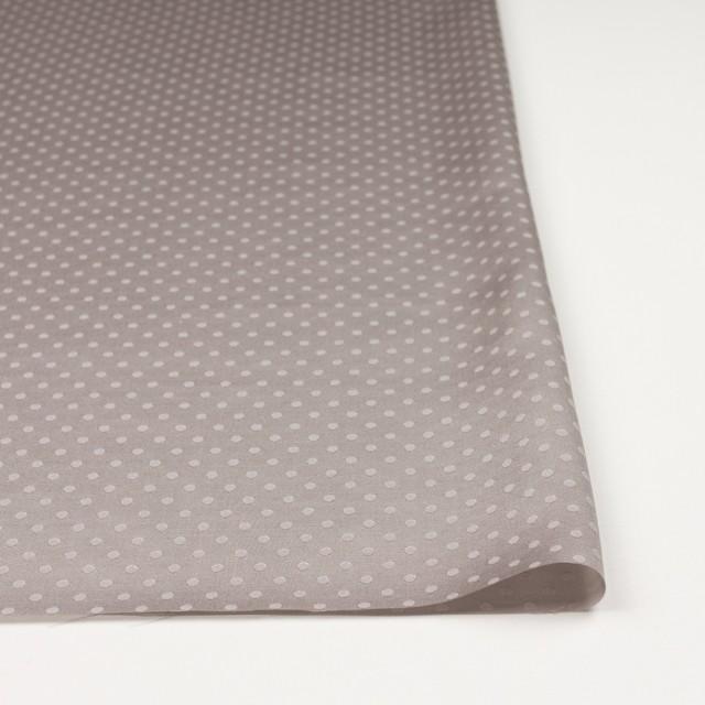 シルク&コットン×ドット(パールグレー)×サテンジャガード_全3色 イメージ3