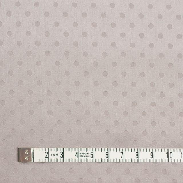 シルク&コットン×ドット(パールグレー)×サテンジャガード_全3色 イメージ4