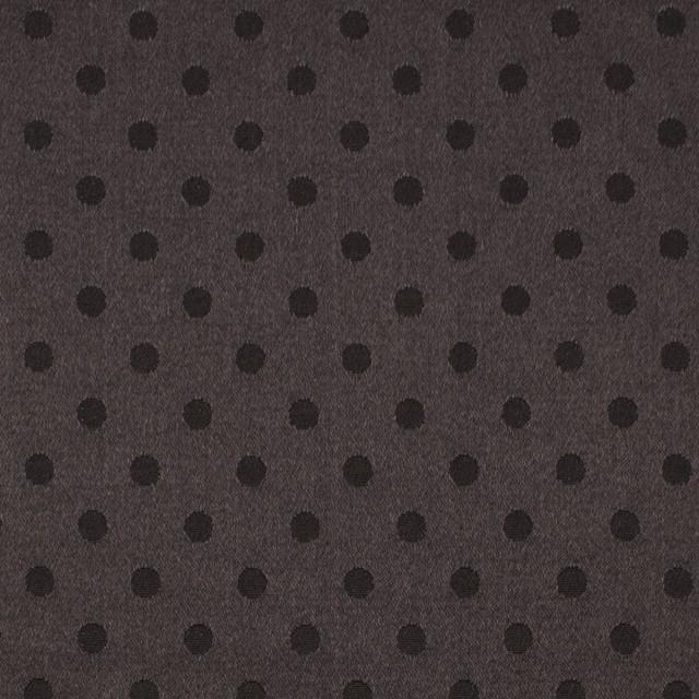 シルク&コットン×ドット(ビターチョコレート)×サテンジャガード_全3色 イメージ1