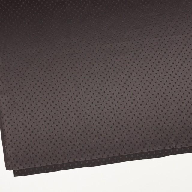 シルク&コットン×ドット(ビターチョコレート)×サテンジャガード_全3色 イメージ2