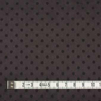 シルク&コットン×ドット(ビターチョコレート)×サテンジャガード_全3色 サムネイル4