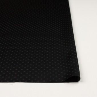 シルク&コットン×ドット(ブラック)×サテンジャガード_全3色 サムネイル3