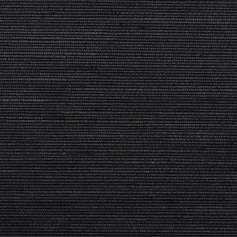 トリアセテート&ポリエステル×無地(ブラック)×グログラン