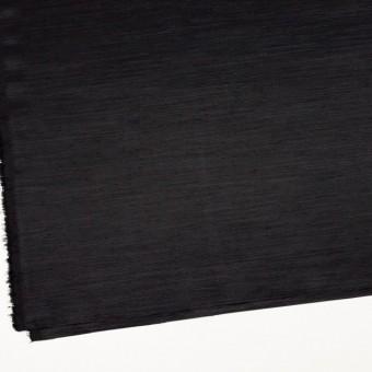 トリアセテート&ポリエステル×無地(ブラック)×グログラン サムネイル2