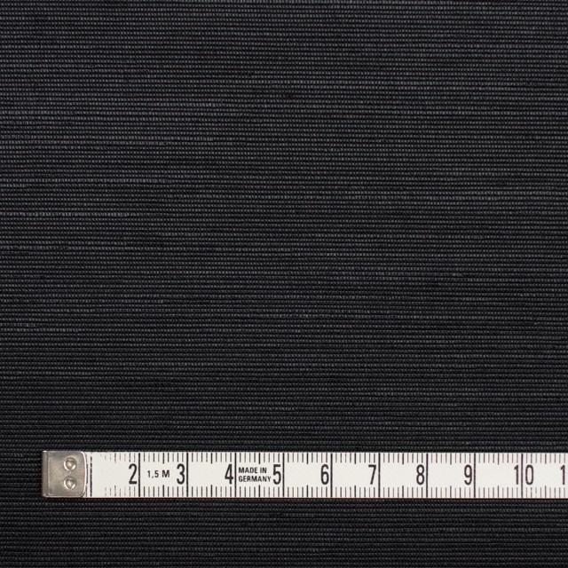 トリアセテート&ポリエステル×無地(ブラック)×グログラン イメージ4