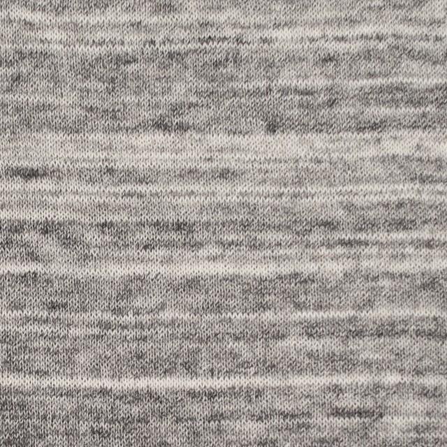 コットン&リネン×ミックス(グレー)×天竺ニット_全2色 イメージ1