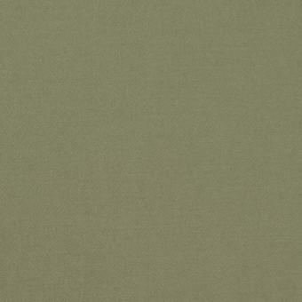 コットン×無地(カーキグリーン)×サテン_全8色