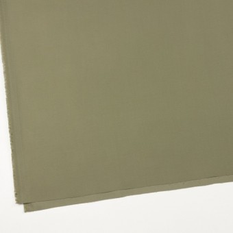 コットン×無地(カーキグリーン)×サテン_全8色 サムネイル2