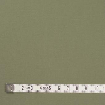 コットン×無地(カーキグリーン)×サテン_全8色 サムネイル4