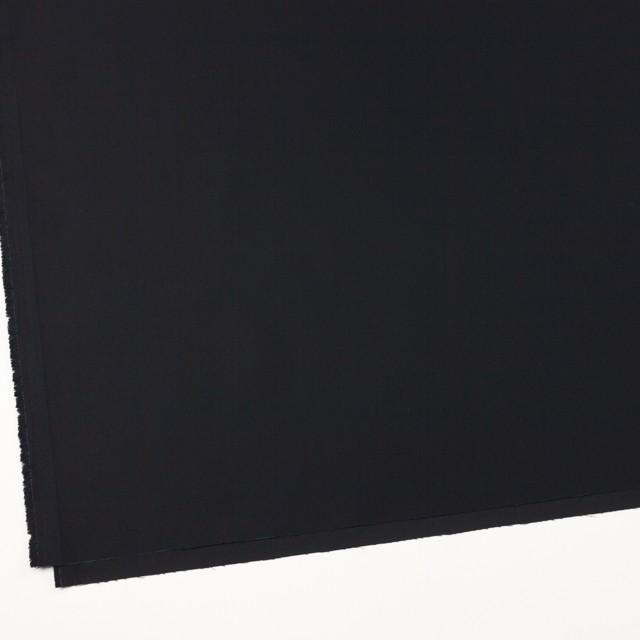 コットン×無地(ブルーブラック)×サテン_全8色 イメージ2