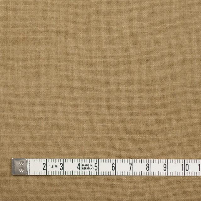 コットン×無地(オーカー)×フランネル イメージ4