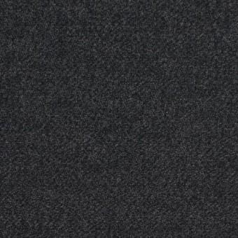 コットン×無地(チャコールブラック)×サージ_全2色
