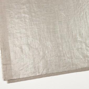 リネン&キュプラ×無地(メタル)×かわり織ワッシャー(ラメ箔プリント) サムネイル2