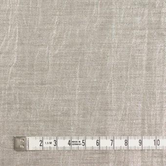 リネン&キュプラ×無地(メタル)×かわり織ワッシャー(ラメ箔プリント) サムネイル4