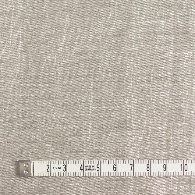 リネン&キュプラ×無地(メタル)×かわり織ワッシャー(ラメ箔プリント) イメージ4