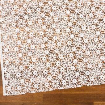 コットン×フラワー(ホワイト)×クロッシュレース_全5色 サムネイル2
