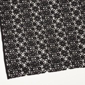 コットン×フラワー(ブラック)×クロッシュレース_全5色 サムネイル2