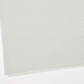 コットン×ドット(オフホワイト&ブラック)×ブロード_全3色 サムネイル2
