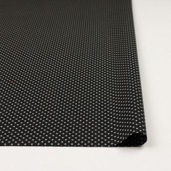 コットン×ドット(ブラック&グレイッシュベージュ)×ブロード_全3色 サムネイル3