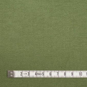 コットン&ナイロン×無地(カーキグリーン)×チノクロスワッシャー(裏面迷彩プリント) サムネイル4
