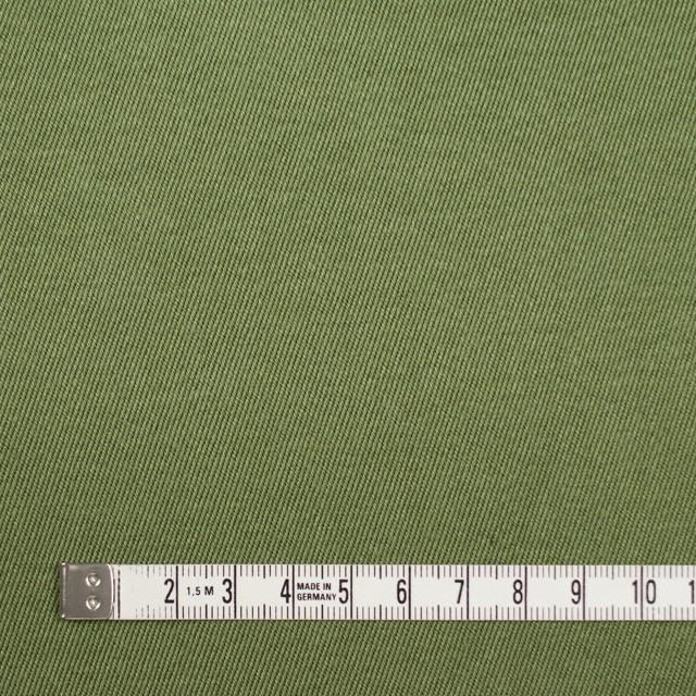 コットン&ナイロン×無地(カーキグリーン)×チノクロスワッシャー(裏面迷彩プリント) イメージ4