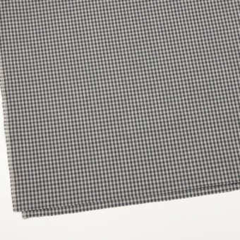 コットン×チェック(グレーミックス)×薄サージ_イングランド製 サムネイル2