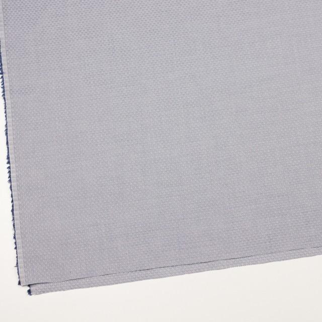 コットン×幾何学模様(シルバーグレー)×ドビー織_イタリア製 イメージ2