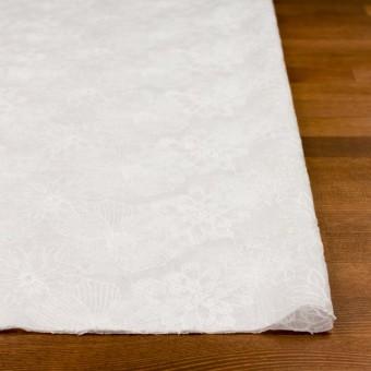コットン×フラワー(ホワイト)×ボイル刺繍_全2色 サムネイル3