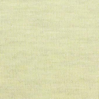 コットン&リネン混×無地(レモン)×天竺ニット_全3色 サムネイル1