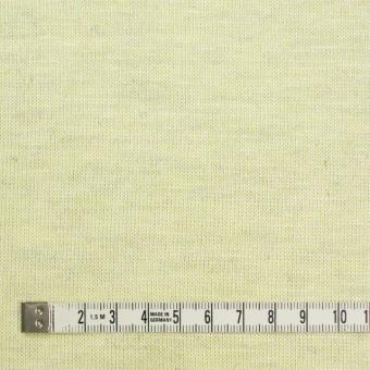 コットン&リネン混×無地(レモン)×天竺ニット_全3色 サムネイル4