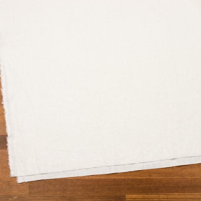 リネン&コットン×無地(オフホワイト)×シーチング_全36色 イメージ2